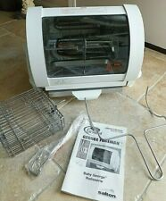 Baby George Foreman Indoor Rotisserie Grill Gr59A Manual Used One Time, Clean