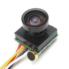 600TVL 1/4 1.8mm Lens CMOS 170 Degree Wide Angle CCD Mini FPV Camera PAL 3.7-5V