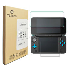 Ytaland Top + Bottom Tempered Glass Cover Screen Protector For Nintendo 2DS XL