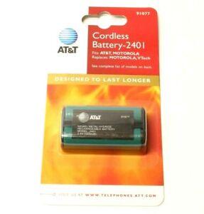 AT&T 2401 2402 2430 2440 2455 2462 2.4V 1300mAh Battery Pack for Cordless Phone