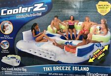 13FT Huge Bestway 7 Person Inflatable Floating Island Lounge Chair Lounger New