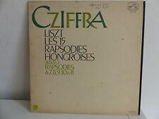 CZIFFRA Liszt Les 15 rapsodies hongroises Album 2 VDSM FALP 518