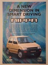 PERODUA NIPPA orig 2000 UK Mkt Sales Leaflet Brochure