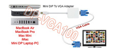 Mini Displayport Display Port To VGA adapter Cable for Apple Macbook PC