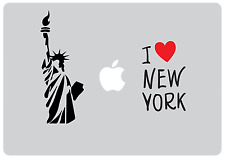 I love New York Design Decorative MacBook Laptop Clear Skin Sticker Decal