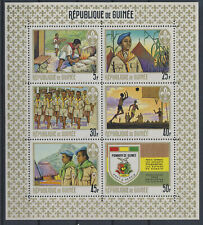 LM81311 Guinea boy scouts sports good sheet MNH