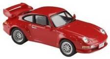 PORSCHE 911 GT2 1966 RED - 1:43 SOLIDO DIECAST MODEL CAR SCALE