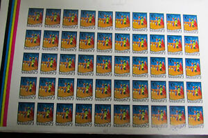 Dominica Stamp Sheets of 50 Mint Proof Group Rare