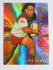 Single-Insert 1996 Season NRL & Rugby League Trading Cards
