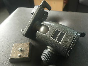 Gitzo G1278M Centre Ball Head with Quick Release Made in Italy