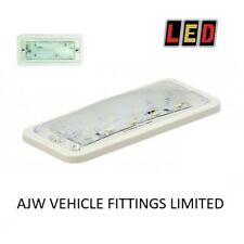 2 LED AUTOLAMPS 148WW12 White 12 Volt Interior Light Lamp Flush Fitting Horsebox