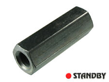 10pcs DI657/30 ALUTRONIC M6 30mm Stainless Steel Hex Screw Coupling Nut Standoff