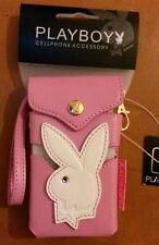 Playboy Diseño Teléfono Celular Cubierta (Rosa)
