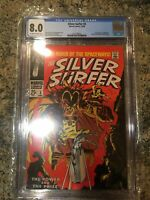 Silver Surfer #3 CGC 8.0 - OW to W Pages - 1st appearance of Mephisto