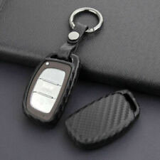 Carbon Fiber Smart Car Key Cover Accessories For Hyundai Tucson Elantra  OFC