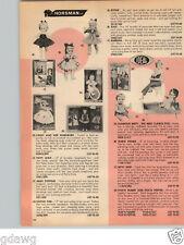 1966 PAPER AD Barbie Doll Bend Legs Skipper Skooter Ken Horsman Patty Duke Ideal