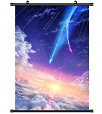 Hot Japan Anime Kimi no Na wa Your Name Poster Wall Scroll Home Decor FL1015