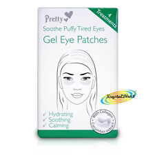 Pretty Gel Eye Mask Pad Patches Soothe Puffy Tired Eyes Hydrates With Collagen