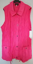 Weste pink Gr.52 Marke Sempre Piu by Chalou Red.30% Polyester