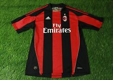 AC MILAN ITALY 2010/2011 FOOTBALL SHIRT JERSEY HOME ADIDAS ORIGINAL SIZE L