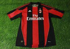 AC MILAN ITALY 2010/2011 FOOTBALL SHIRT JERSEY HOME ADIDAS ORIGINAL SIZE L