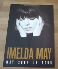 IMELDA MAY (UK Concert Tour Flyer 2017)