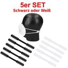 5 x Ohrenschoner Maskenhalter Masken Halter für Mundschutz Behelfsmasken Silikon