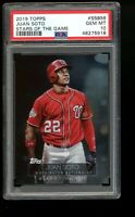 2019 Topps Stars of the Game Juan Soto Holo Foil SP Nationals PSA 10 Pop 3