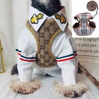 Pet Dog Walking Harness Lead Leash Collar Adjustable Small Dog Vest For Pets LZ
