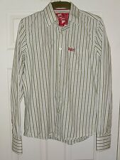 "SUPERDRY STRIPED LARGE CHEST 40"" CASUAL/ FORMAL  GREAT CONDITION"
