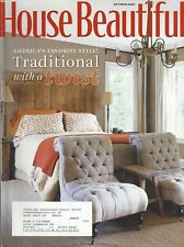 HOUSE BEAUTIFUL Magazine (Oct 2007) America's Favorite Style; Traditional ~ F528