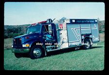 Plotterkill NY 1999 International Boise Mobile pumper BLUE Fire Apparatus Slide