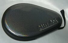 Nittaku Blade,Paddle Table Tennis Ping Pong Luxury Case,Carbon Grain Pattern