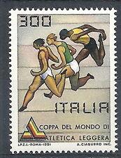 1981 ITALIA ATLETICA LEGGERA MNH ** - ED