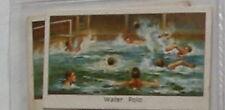 #43 Water Polo Sport Carte de cigarette