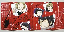 Durarara!! book jacket cover promo anime official DRRR izaya shizuo