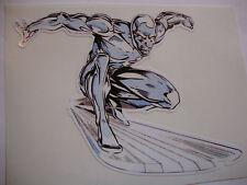 """4 """"silver surfer autocollant + 2 autres 4"""" disney personnages de dessin animé votre choix"""