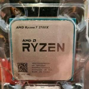 AM4 - Ryzen 7 2700x - cpu only no fan. 8 core 16 thread