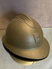 Casque Adrian très bon état Armée française Défense passive 2e Guerre Mondiale