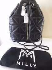 New Milly Avery Quilted Lambskin Backpack!