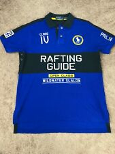 Polo by Ralph Lauren Polo Shirt Mens L Rafting Guide Slalom Olympic Outfiffers