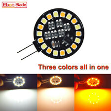 10PCS G4 18 SMD Capsule Light Three Color All In One 3030 LED Bulb Lamp 12V AC