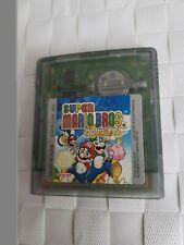 Super Mario Bros. Deluxe (Nintendo Game Boy Color) Game Cartridge ..
