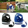 Pet Puppy Kitten Harness & Leash Adjustable Breathable Mesh Vest Dog Cat Clothes