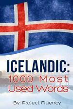 Icelandic: 1000 Most Used Words : Speak Icelandic, Fast Language Learning,...