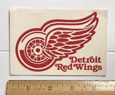 Vintage Detroit Red Wings NHL Hockey Team Logo Sticker Decal Emblem NOS