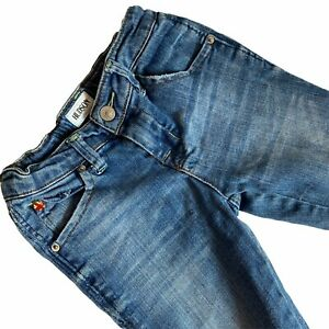 Hudson Jeans Baby 6 months Distressed Cuffed Adjustable Waist Soft Denim
