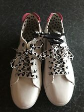 Ladies Disney Mickey Mouse White Trainers Shoes By Primark Size 5 BNWT
