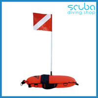 Imersion Master Inflatable Scuba Diving Float Buoy & Dive Flag For Spearfishing