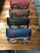 New 4 EYEGUARD Readers Thin Womens Reading Glasses with Cases 3.50